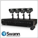 Swann 4-Channel DVR4-2550 and 4x ADS-180 CMOS SWDVK-425504C Cameras
