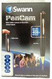Swann 4GB PenCam Mini Video Camera & Recorder Executive-quality Black Ballpoint Pen, Hidden Pinhole Camera (Newest Model)