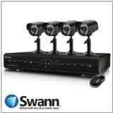 Swann 8-Channel DVR8-2550 and 4 x ADS-180 CMOS SWDVK-825504C