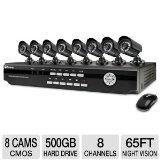 Swann SWDVK-826008 8 Channel DVR w/ 8 Cameras